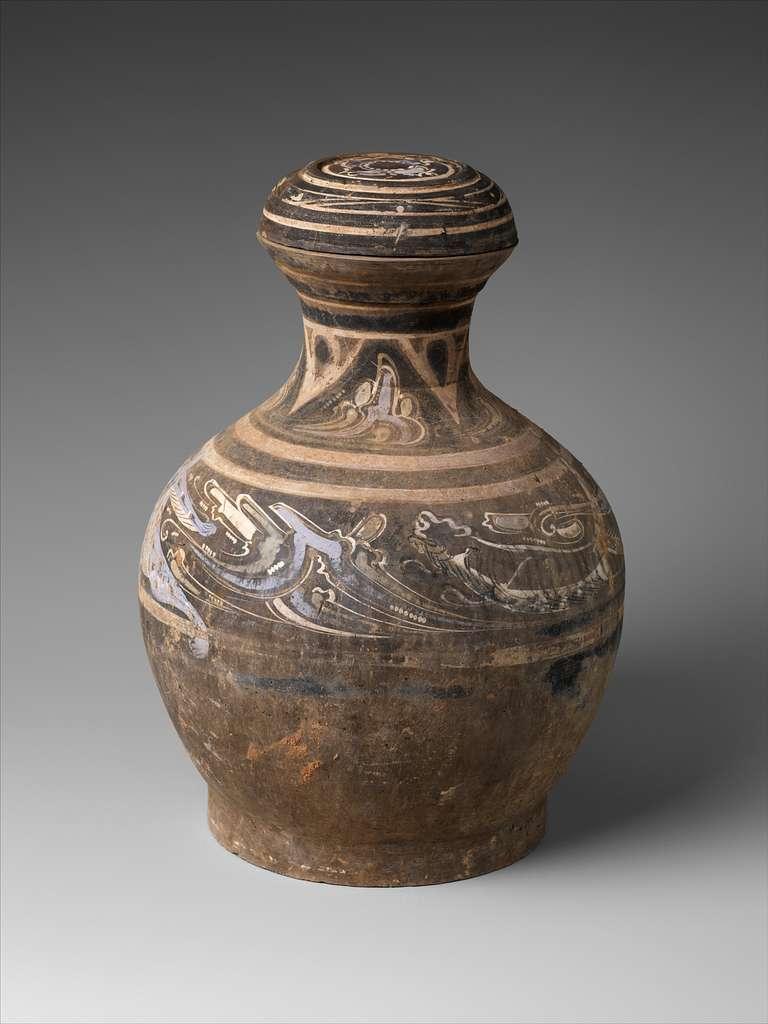 Covered Jar (Hu)
