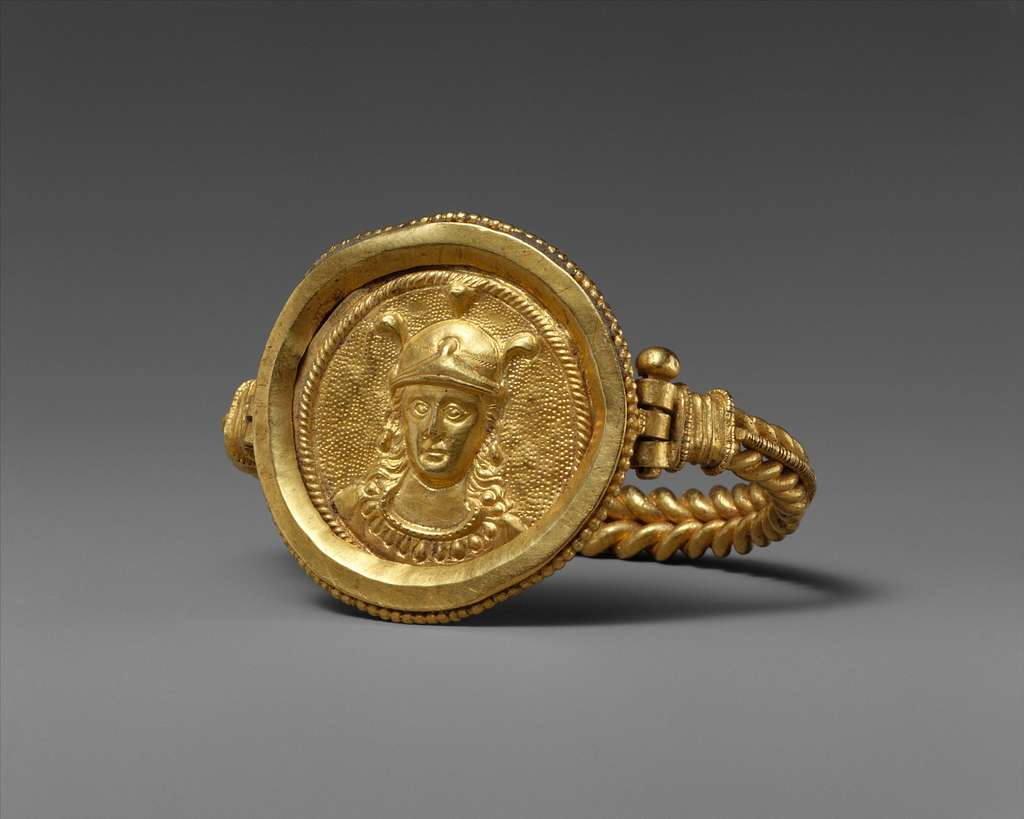 Bracelet with Bust of Roma