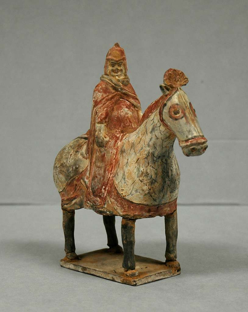 Figure of an Equestrian Soldier