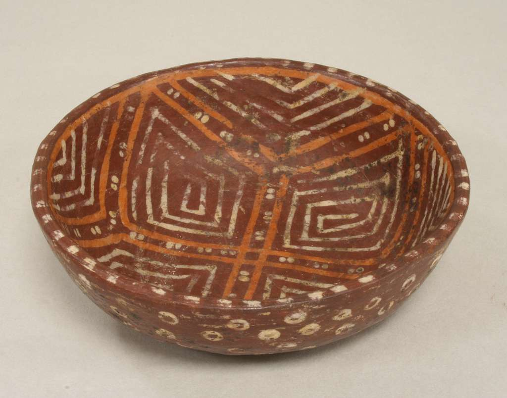 Bowl with Geometric Design