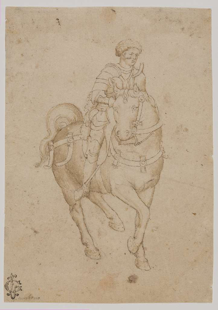 A Warrior on Horseback