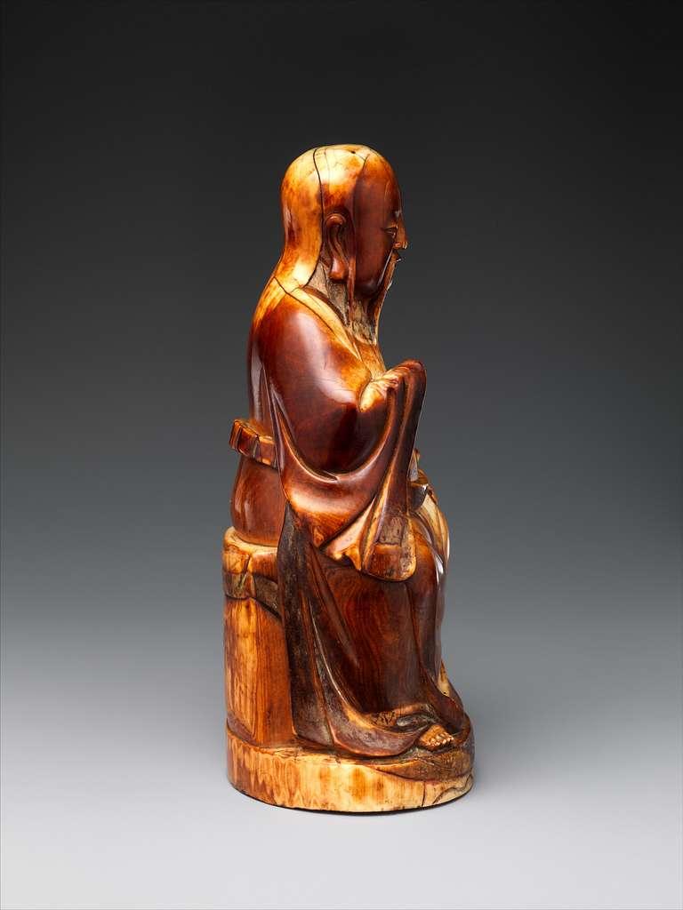 明中期  象牙雕文昌坐像|Wenchang, Stellar God of Literature