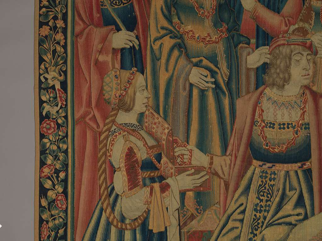 Two Episodes from the Parable of the Prodigal Son: The Prodgal Offering Jewels to Luxuria