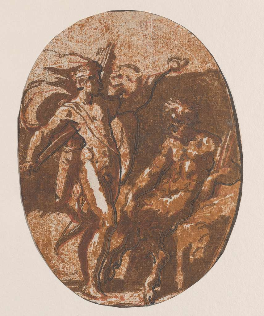 The contest between Apollo and Marysas