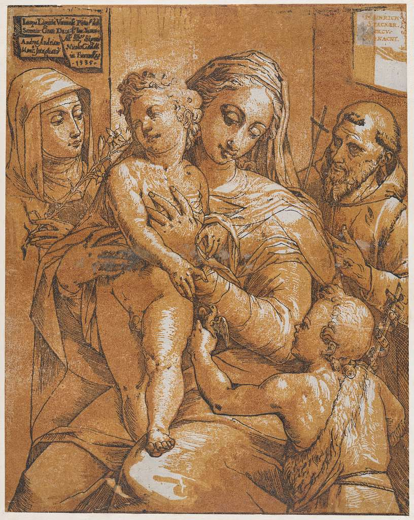 The Virgin and Child with St. John the Baptist, St. Francis, and St. Catherine of Siena