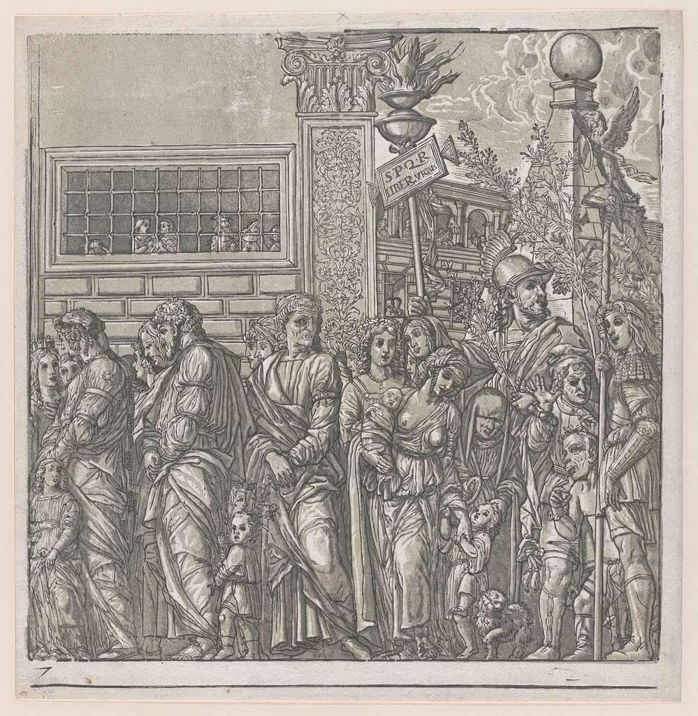 Sheet 7: Procession, from The Triumph of Julius Caesar