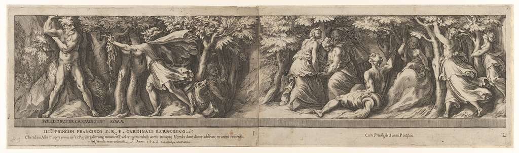 Perseus in the Garden of the Hesperides