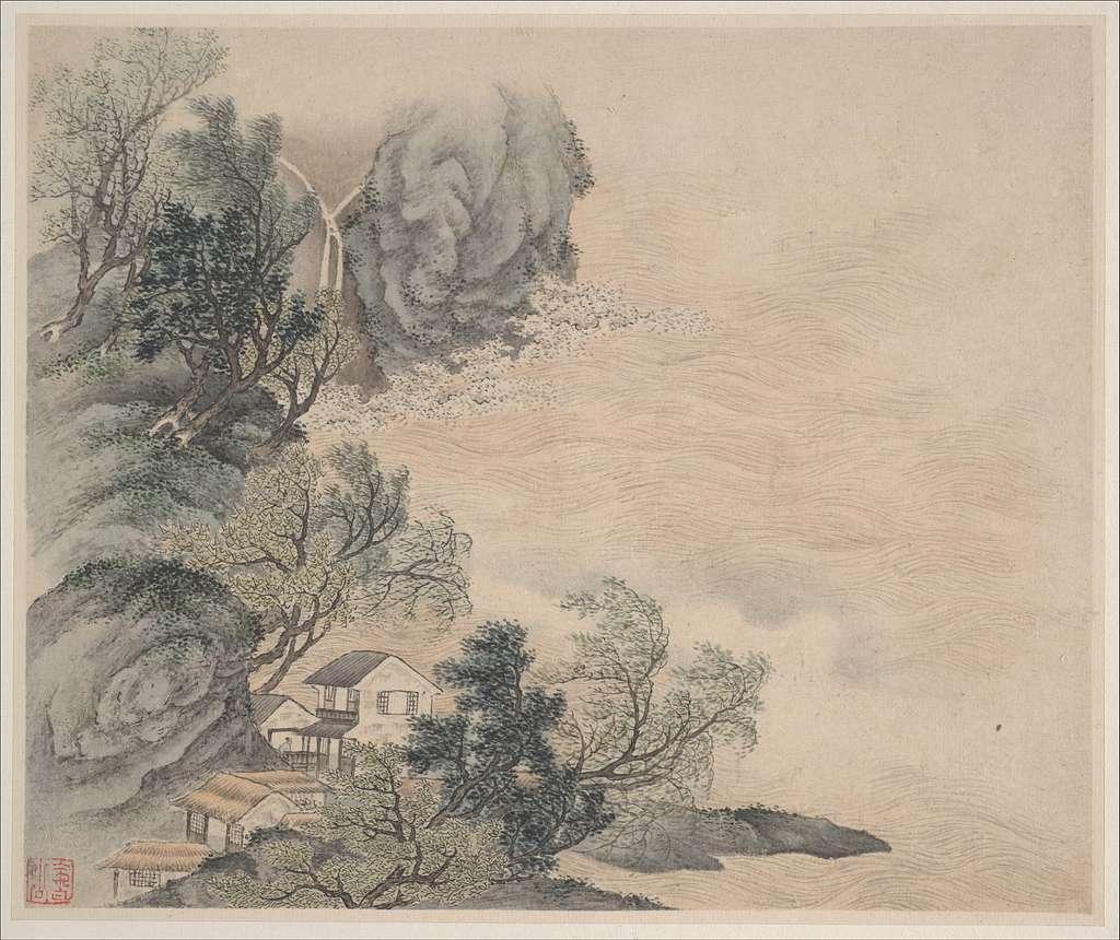 清 樊圻 山水圖 冊 紙本|Landscapes