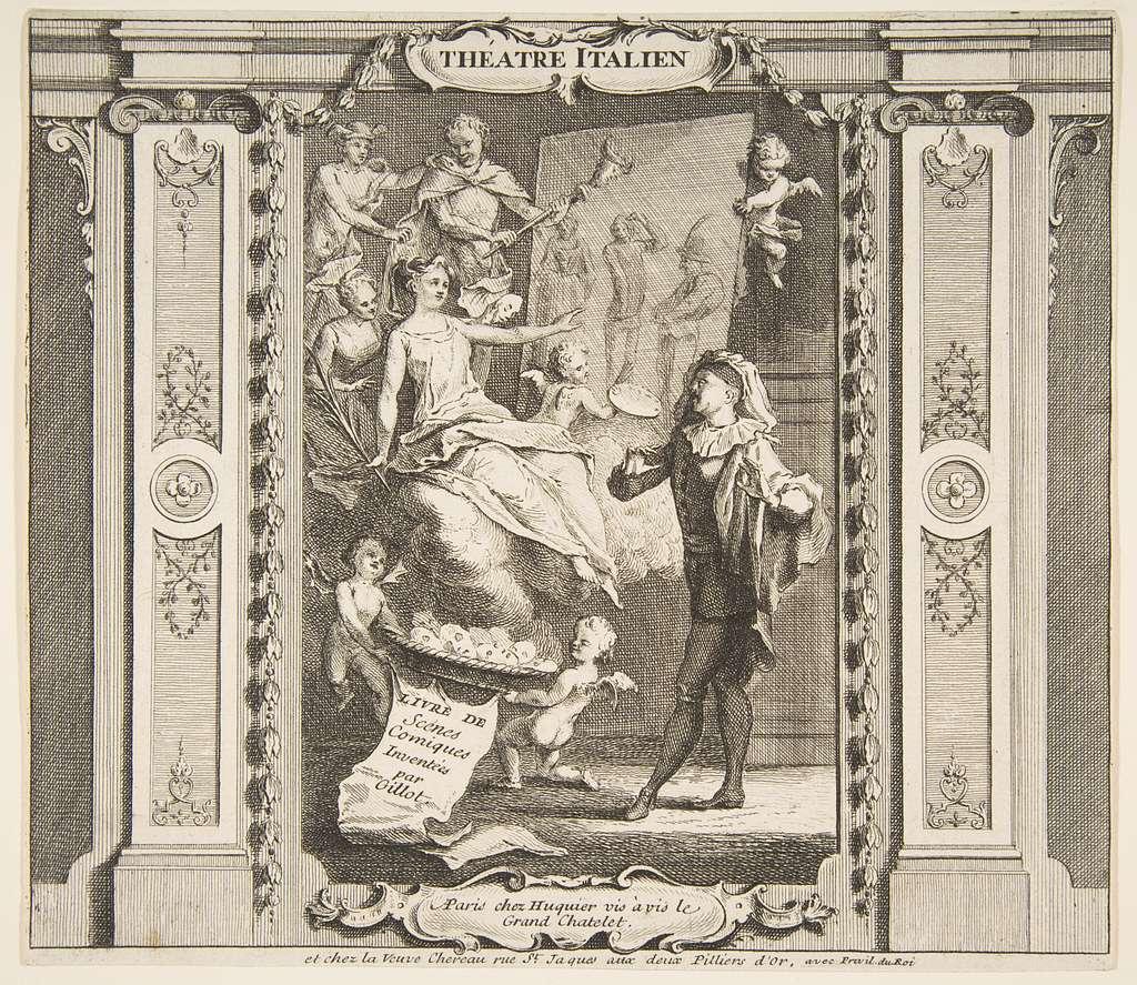 Frontispice to Theatre Italien