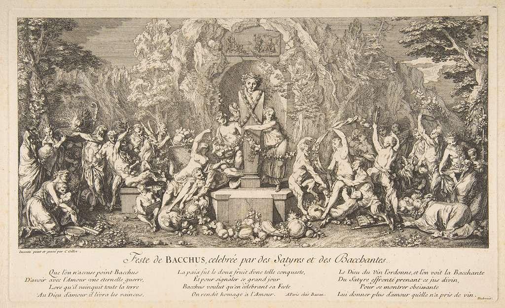 The Fête of Bacchus