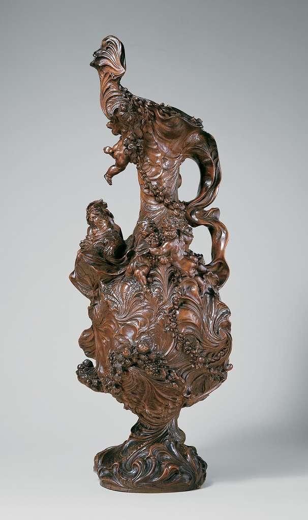 Decorative ewer