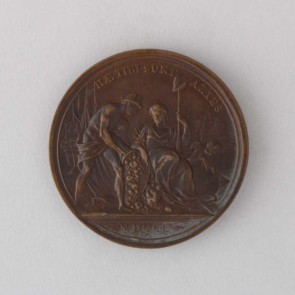Medal Showing George II of England