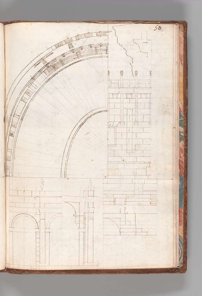 Notebook with Views of the Excavations at Herculaneum and of Other Italian Cities