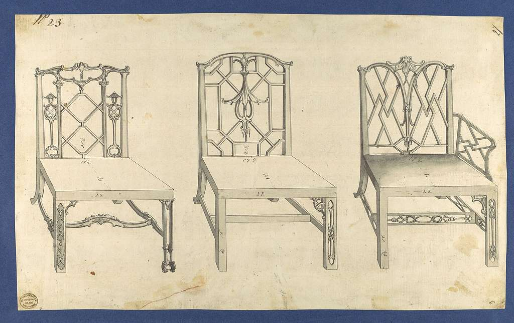 Chippendale Drawings, Vol. I