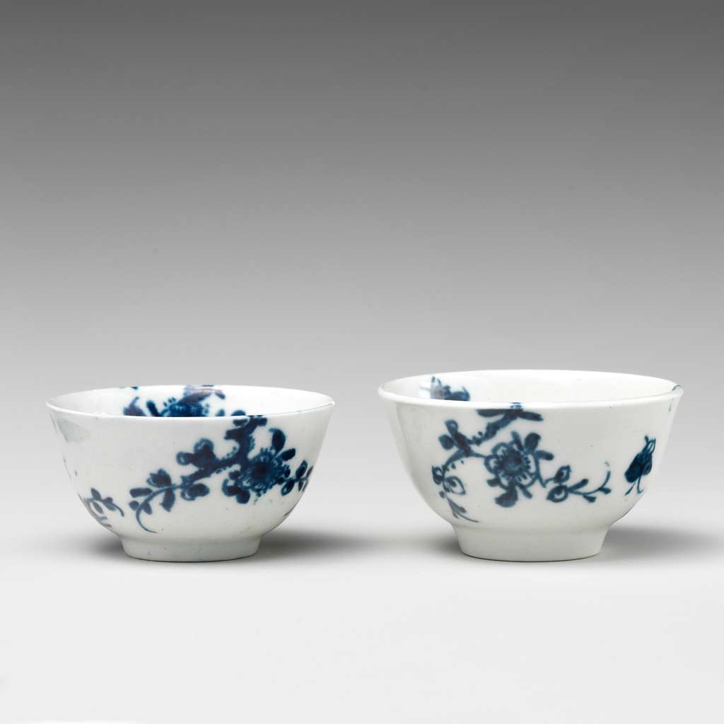 Two miniature bowls (part of a service)