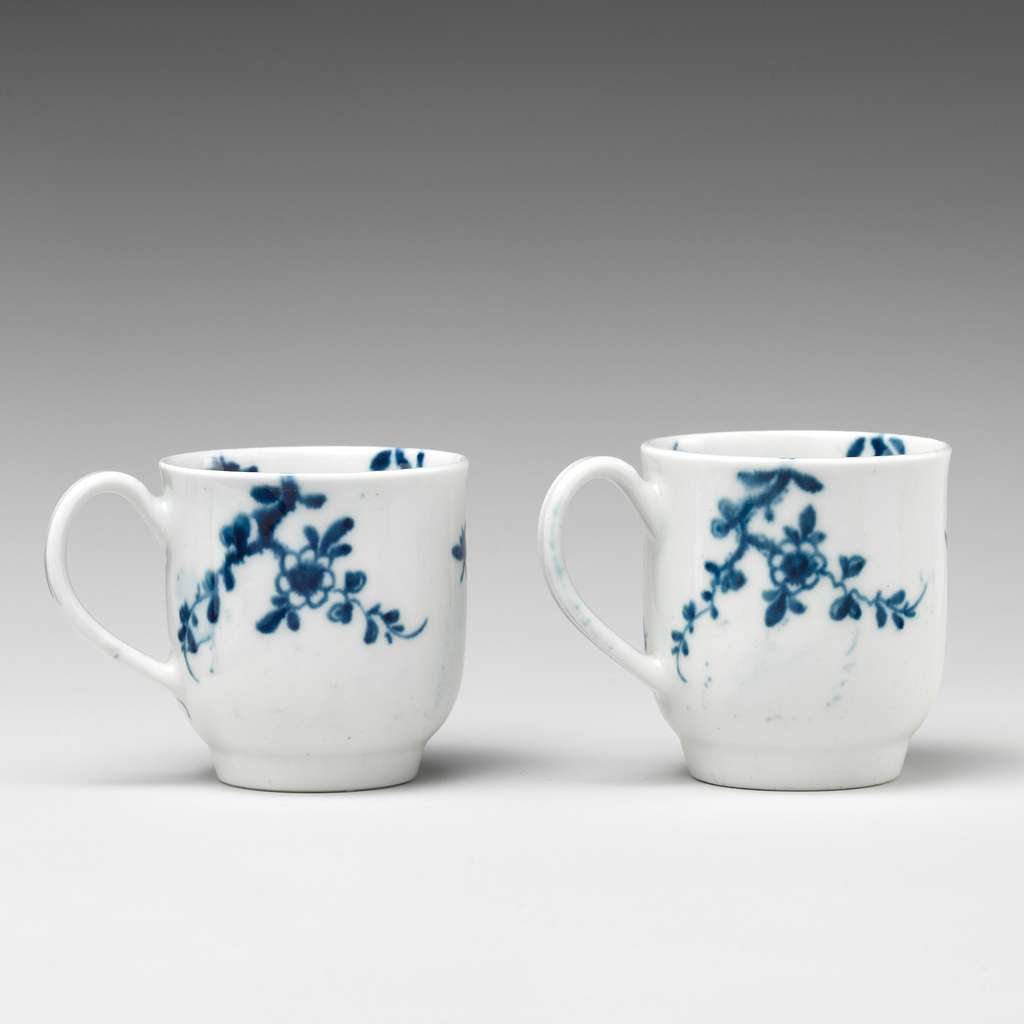 Two miniature cups (part of a service)
