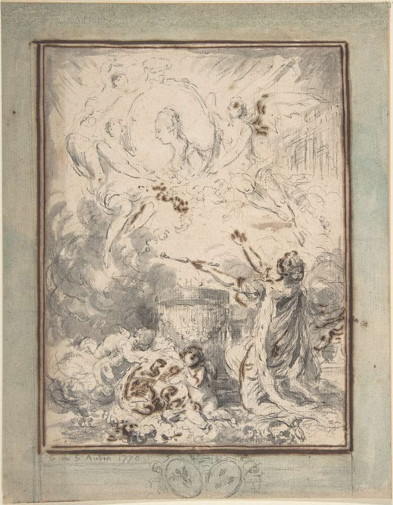 Allegory on the Marriage of the Dauphin and Marie-Antoinette in 1770