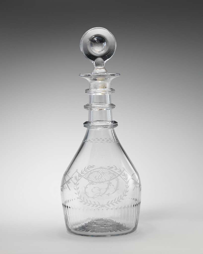 Decanter (one of a pair)
