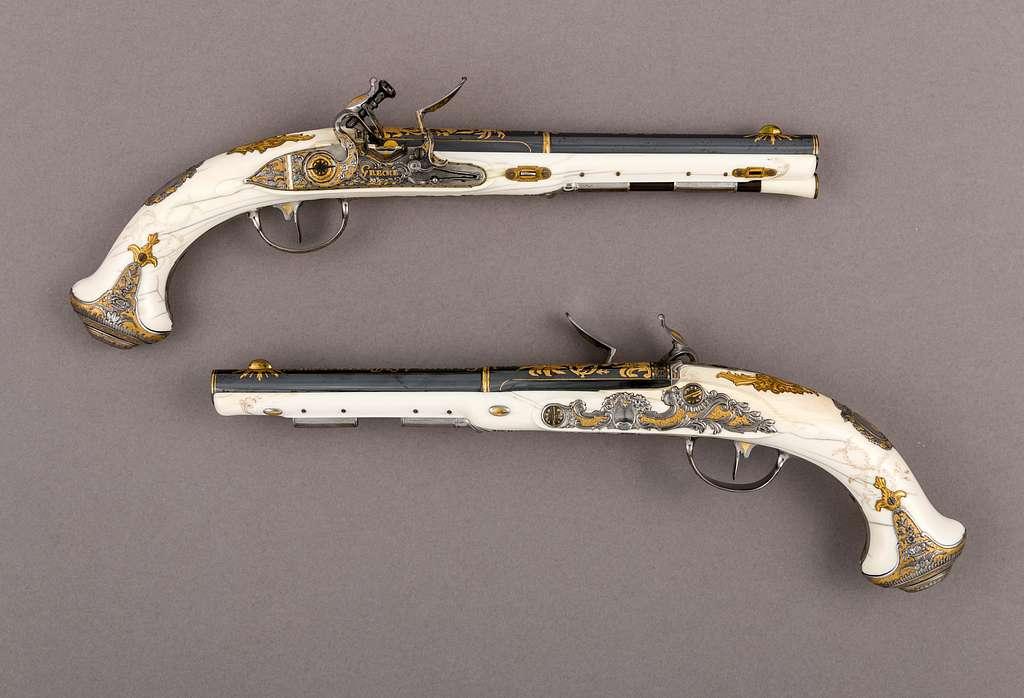 Pair of Flintlock Pistols of Empress Catherine the Great (1729–1796)