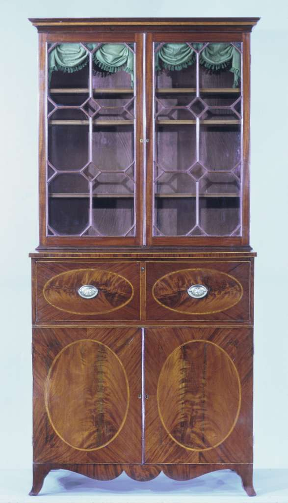 Secretary and bookcase