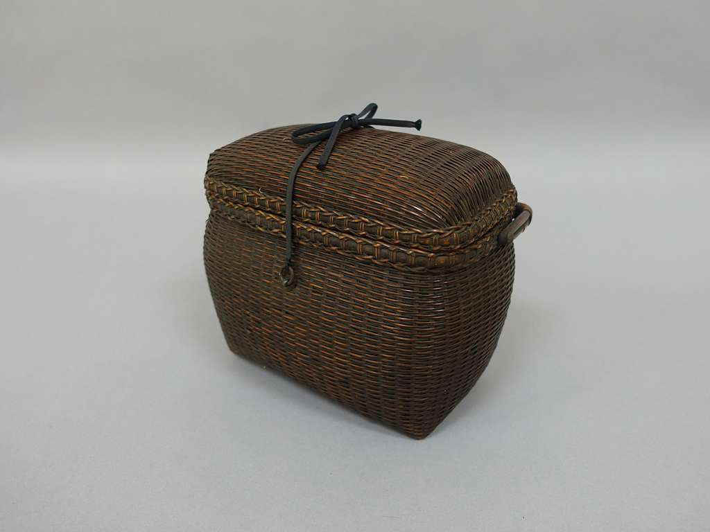 Basket with Removable Cover
