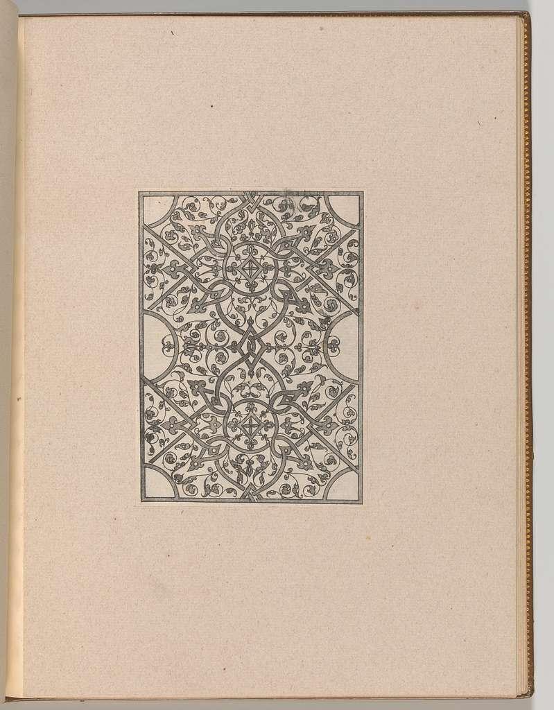 Copies after the 'Livre contenant passement de moresques'