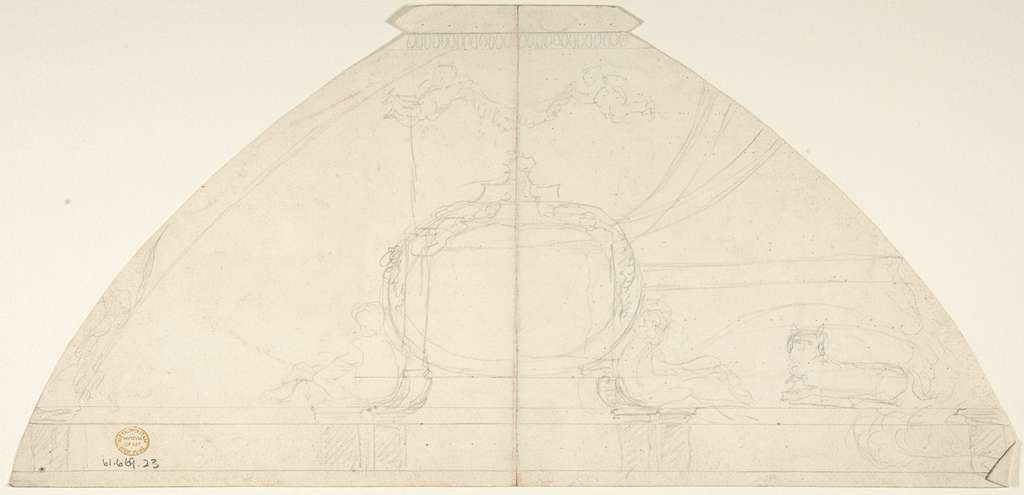 Design for Domed Ornament