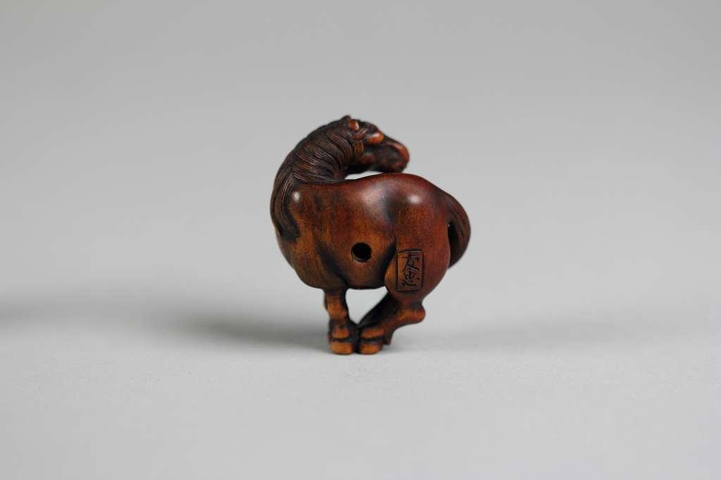Netsuke of Horse