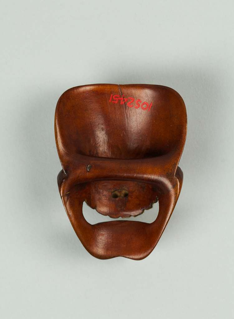 Netsuke of Mask
