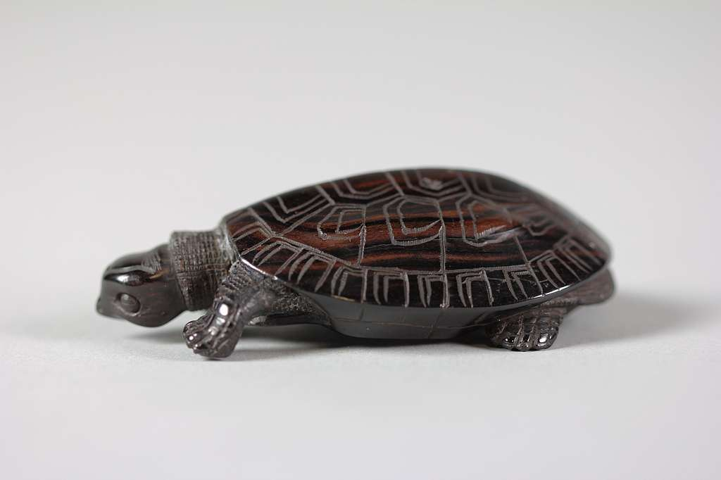 Netsuke of Turtle