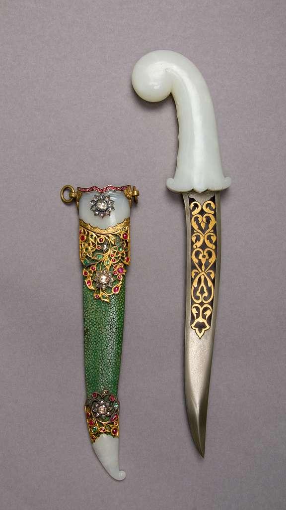 Tray of Jeweled Daggers
