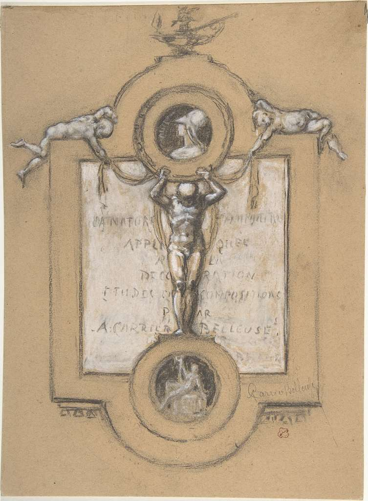 Design for a Frontispiece